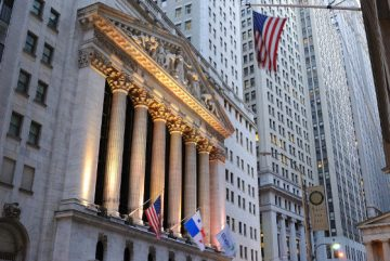 Wall Street Bourse New York