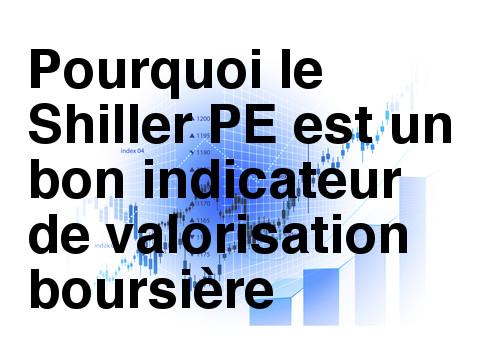 Le Shiller PE indicateur de valorisation