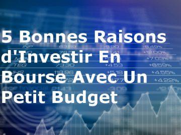 Investir en bourse petit budget